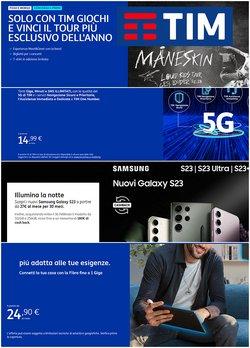Offerte Elettronica e Informatica nella volantino di Tim a Taranto ( Pubblicato ieri )