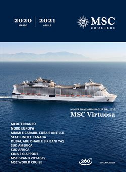 Catalogo MSC Crociere a Genova ( Più di un mese )