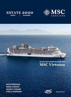 Catalogo MSC Crociere ( Scaduto )