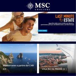 Offerte di Viaggi nella volantino di MSC Crociere ( Per altri 24 giorni)