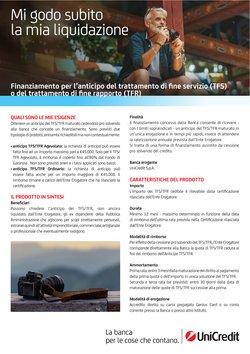 Offerte di Banche e Assicurazioni nella volantino di UniCredit ( Per altri 2 giorni)