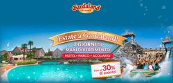 Offerte di Gardaland nella volantino di Bologna