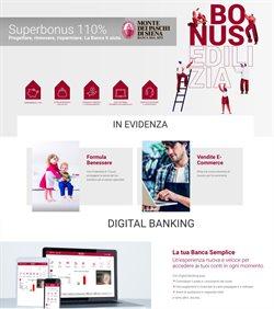Offerte Banche e Assicurazioni nella volantino di Banca Monte dei Paschi di Siena a Mesagne ( Per altri 15 giorni )
