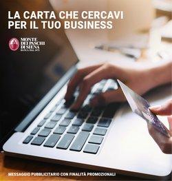 Offerte di Banche e Assicurazioni nella volantino di Banca Monte dei Paschi di Siena ( Per altri 28 giorni)