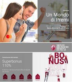 Offerte di Banche e Assicurazioni nella volantino di Banca Monte dei Paschi di Siena ( Per altri 21 giorni)