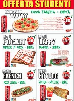 Offerte Caffetterie, ristoranti e pizzerie nella volantino di Pizza Away a Milano