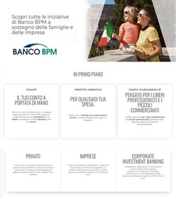 Offerte Banche e Assicurazioni nella volantino di Banco BPM a Marsala ( Per altri 29 giorni )