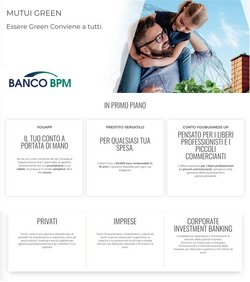 Offerte di Banco BPM nella volantino di Banco BPM ( Per altri 9 giorni)