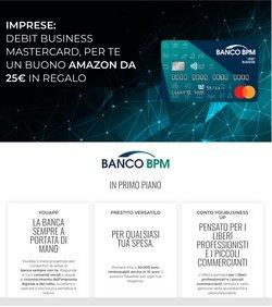 Offerte di Banche e Assicurazioni nella volantino di Banco BPM ( Pubblicato oggi)
