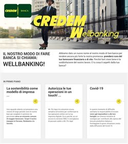 Offerte Banche e Assicurazioni nella volantino di Credem a Mesagne ( Più di un mese )