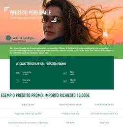 Offerte di Banche e Assicurazioni nella volantino di Banco di Sardegna ( Per altri 17 giorni)