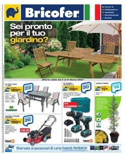 Offerte Bricolage e Giardino nella volantino di Bricofer a Cagliari ( Per altri 13 giorni )