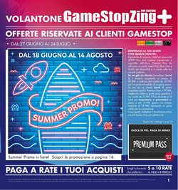 Catalogo Gamestop a Vicenza ( Scaduto )