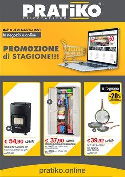 Offerte Bricolage e Giardino nella volantino di Pratiko Brico e Arredo a Milazzo ( Per altri 3 giorni )