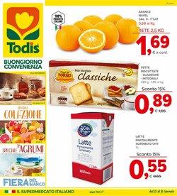 Offerte di Latte parzialmente scremato a Todis