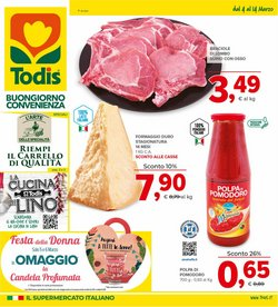 Offerte Iper Supermercati nella volantino di Todis a Molfetta ( Per altri 3 giorni )