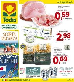 Offerte di Iper Supermercati nella volantino di Todis ( Per altri 8 giorni)