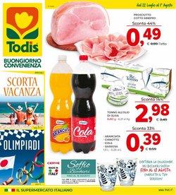 Offerte di Iper Supermercati nella volantino di Todis ( Per altri 5 giorni)