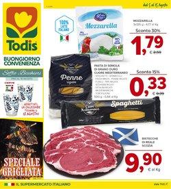 Offerte di Iper Supermercati nella volantino di Todis ( Pubblicato oggi)
