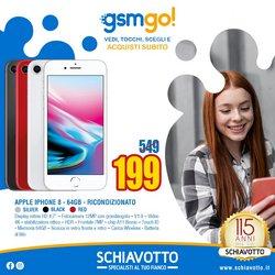 Offerte di IPhone 8 a Schiavotto