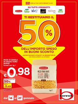 Offerte Iper Supermercati nella volantino di Bennet a Desio ( Per altri 9 giorni )