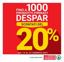 Catalogo Despar a Bologna ( Per altri 8 giorni )