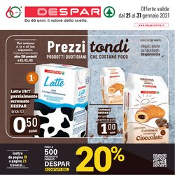 Offerte Iper Supermercati nella volantino di Despar a Santa Teresa di Riva ( Pubblicato ieri )