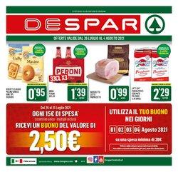 Offerte di Iper Supermercati nella volantino di Despar ( Pubblicato oggi)