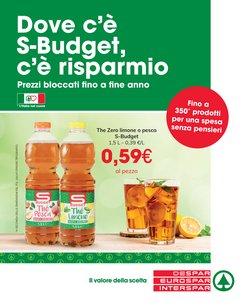 Catalogo Eurospar a Udine (Udine) ( Per altri 27 giorni )