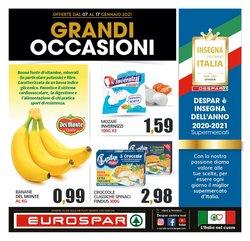 Offerte Iper Supermercati nella volantino di Eurospar a Belvedere Marittimo ( Scade oggi )