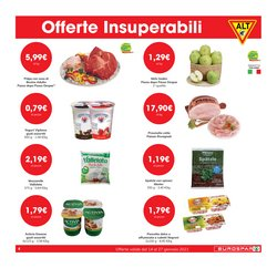 Offerte di Spinaci a Eurospar