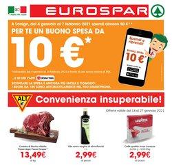 Catalogo Eurospar a Vicenza ( Per altri 6 giorni )