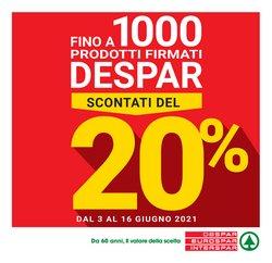 Offerte di Iper Supermercati nella volantino di Eurospar ( Scade oggi)