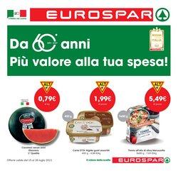 Offerte di Eurospar nella volantino di Eurospar ( Scade oggi)