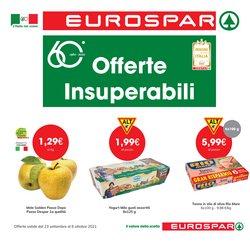 Offerte di Eurospar nella volantino di Eurospar ( Per altri 9 giorni)
