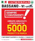 Catalogo Interspar a Bassano del Grappa ( Per altri 6 giorni )