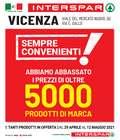 Catalogo Interspar a Vicenza ( Scade domani )