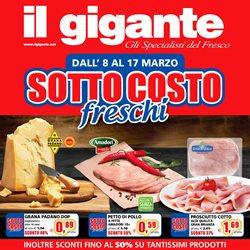 Offerte Iper Supermercati nella volantino di Il Gigante a Milano ( Pubblicato ieri )
