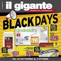 Offerte di Iper Supermercati nella volantino di Il Gigante ( Per altri 6 giorni)