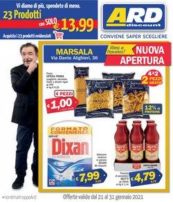Offerte Discount nella volantino di Ard Discount a Marsala ( Per altri 6 giorni )