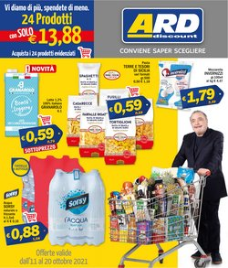 Offerte di Discount nella volantino di Ard Discount ( Scade oggi)