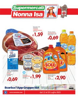 Catalogo Supermercati Nonna Isa ( Scade oggi)