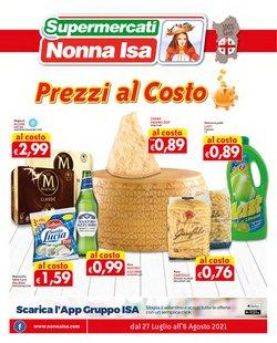 Offerte di Supermercati Nonna Isa nella volantino di Supermercati Nonna Isa ( Per altri 3 giorni)