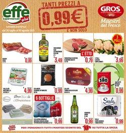 Offerte di Supermercati EffePiù nella volantino di Supermercati EffePiù ( Per altri 5 giorni)