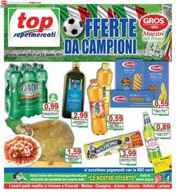Offerte di Top Supermercati nella volantino di Top Supermercati ( Scade oggi)
