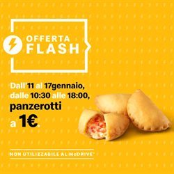 Offerte Ristoranti nella volantino di McDonald's a Marcianise ( Per altri 2 giorni )