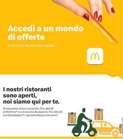 Offerte Ristoranti nella volantino di McDonald's a Nichelino ( 2  gg pubblicati )
