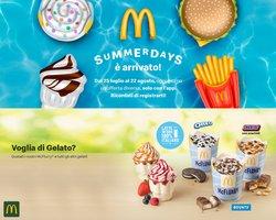 Offerte di Ristoranti nella volantino di McDonald's ( Pubblicato oggi)