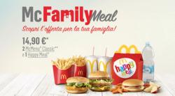 Offerte Caffetterie, ristoranti e pizzerie nella volantino di McDonald's a Catania