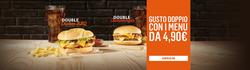 Offerte Caffetterie, ristoranti e pizzerie nella volantino di McDonald's a Sondrio